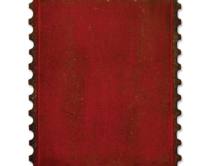 Sizzix Tim Holtz Alterations Movers & Shapers Bigz Die - POSTAGE STAMP FRAME (658572)