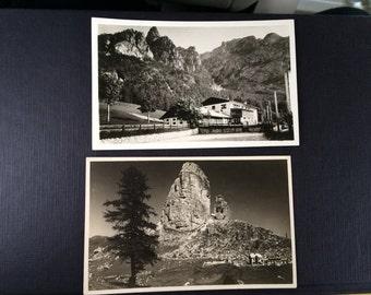 10 Vintage Italian Postcards, 1920s-1940s Italian Postcards, Merano Postcard, Italy Postcard