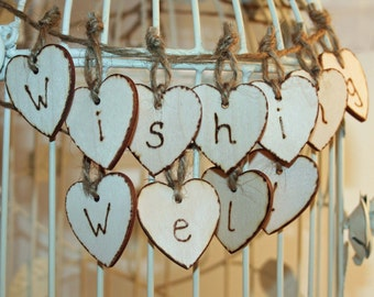 Wedding Garland - Wishing Well Garland - Wedding decoration