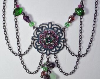 Garden Romance Necklace - READY TO SHIP