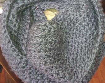 Crochet Infinity Scarves!