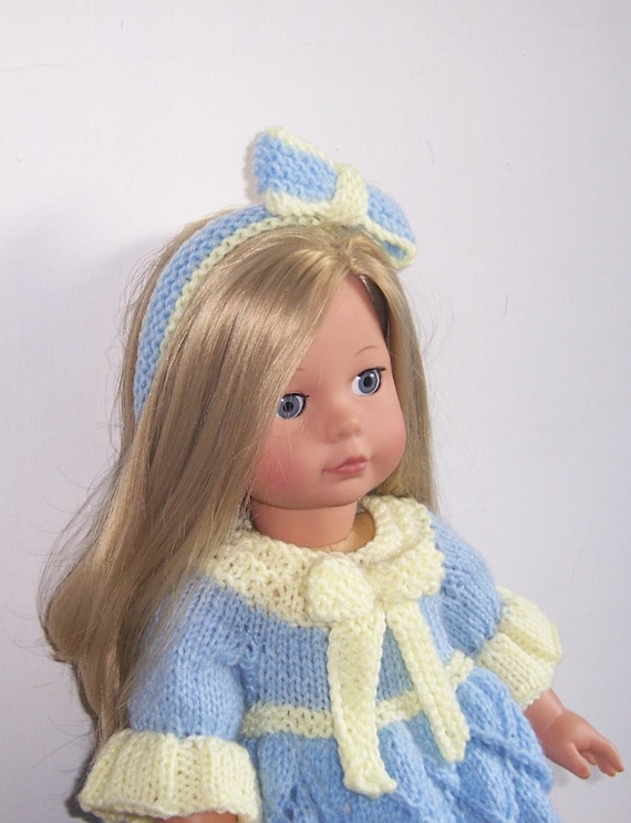 Knitting Patterns For Our Generation Dolls : Dolls clothes PDF knitting pattern for 18
