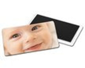 personalized photo magnet 8.4 X 5.4