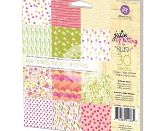 "Prima - Julie Nutting - ""Dress Me Up"" 6x6 Paper Pad - Blush - 910860"