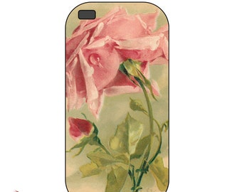 Vintage Romantic Rose  - Iphone 6, 6+,5, 4s or 4 case