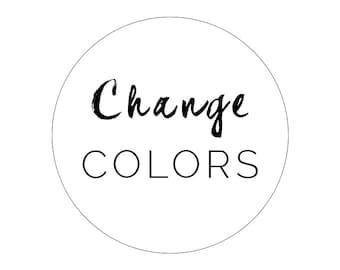 Change Blog Theme Colors