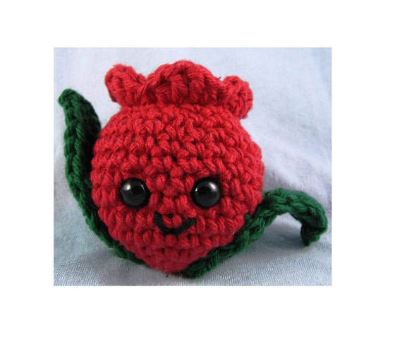 Amigurumi Crochet Pattern Quick and Easy Cute Silly Tulip