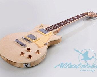 albatross guitars diy guitar kits by albatrossguitars on diy electric guitar kit set in neck solid paulownia body flamed maple veneer gk004p
