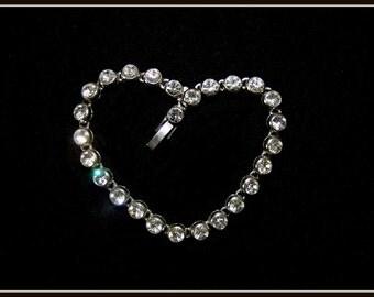 Tennis Bracelet, Bridal Bracelet, Sparkling Swarovski Wedding Bracelet, Wedding Bracelet