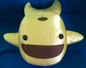 Golden Whale Plush: Handmade, Made-to-Order