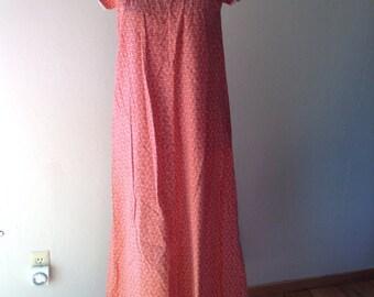 Vintage maxi dress size 8