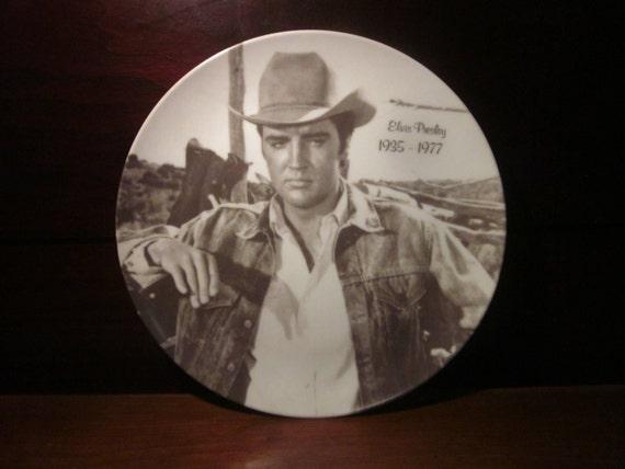 Elvis Presley Collectible Souvenir Plate Elvis Presley