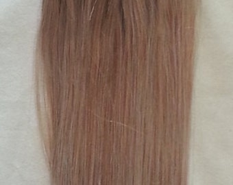 18inches 100grs,100s,Micro Loop(Rings) Human Hair Extensions # 18 Dark Blonde