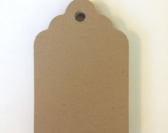 Kraft brown tags, White tags, Blank tags, Blank gift tags, Set of 25, Favor tags, DIY, Wedding tags, Price tags, Merchandise tags, 3 sizes