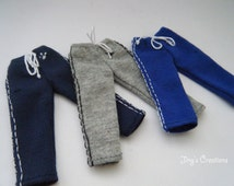 1:12 scale men's jogger---choose colour /  for Heidi doll by Jing's Creations