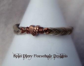 Fishtail Horsehair bracelet, Horsehair Bracelet