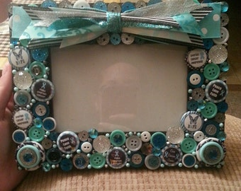 Ovarian Cancer Picture Frame
