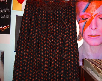 Vintage Midi Skirt TWO POTATO Laguna Beach