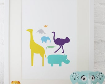 Nursery Print: Animal