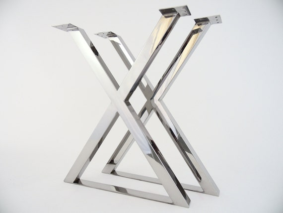 28 X frame Table Legs 24 Base Widthstainless
