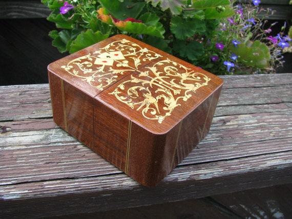 Vintage Playing Card Box Playing Cards Box Made in