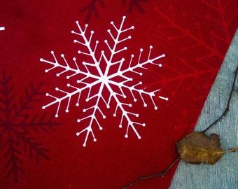 Snowflakes Towel Christmas Towel Tea Towel Kitchen Towel Christmas Decor Snowflakes Ornament Christmas Gift Swedish Christmas Gift