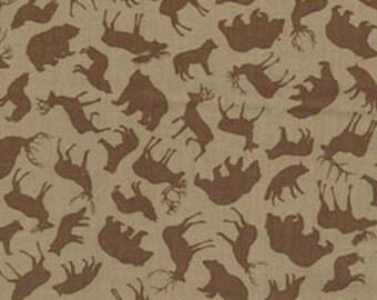 Moose Fabric Etsy