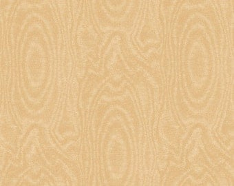 One Yard That's A Moiré - Moire in Tan - Cotton Quilt Fabric - by Whistler Studios for Windham Fabrics (W2145)
