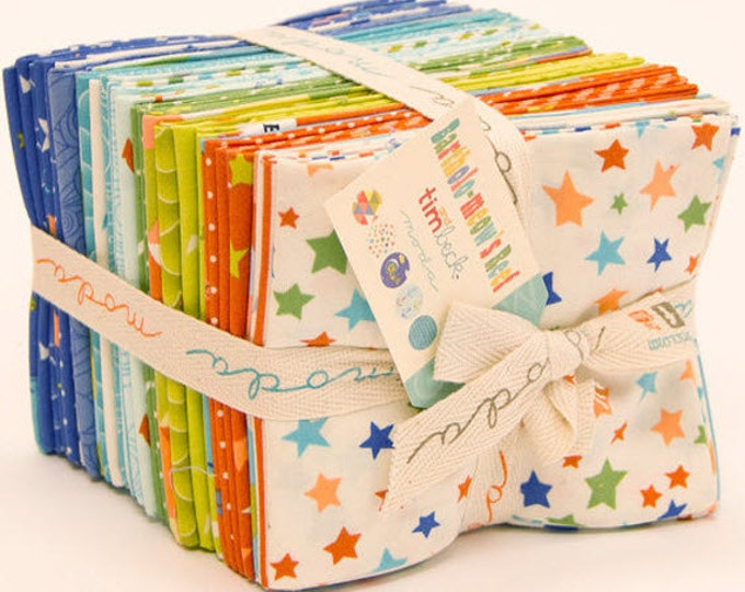 Bartholo-meow's Reef Fat Quarter Bundle - 32 Pieces Cotton Quilt Fabric - from Tim and Beck for Moda W1340