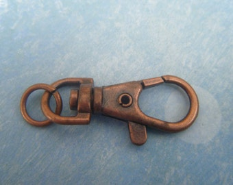 Antique Copper Keychain