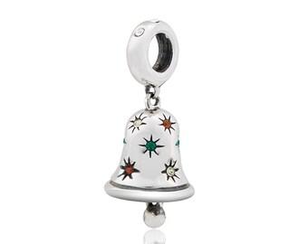 Multicolor Bell Dangle Charm