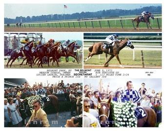 "Secretariat ""40th"" Anniversary Kentucky Derby and Triple Crown 1973"