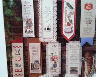 Bookmark Collection by Leisure Arts.  Leaflet #420.