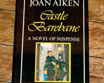 Vintage Book - Castle Barebane - by: Joan Aiken
