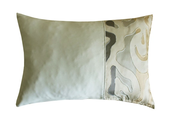 Light Gray Decorative Pillow : Light grey Decorative Throw Pillow CoversCouch PillowLumbar