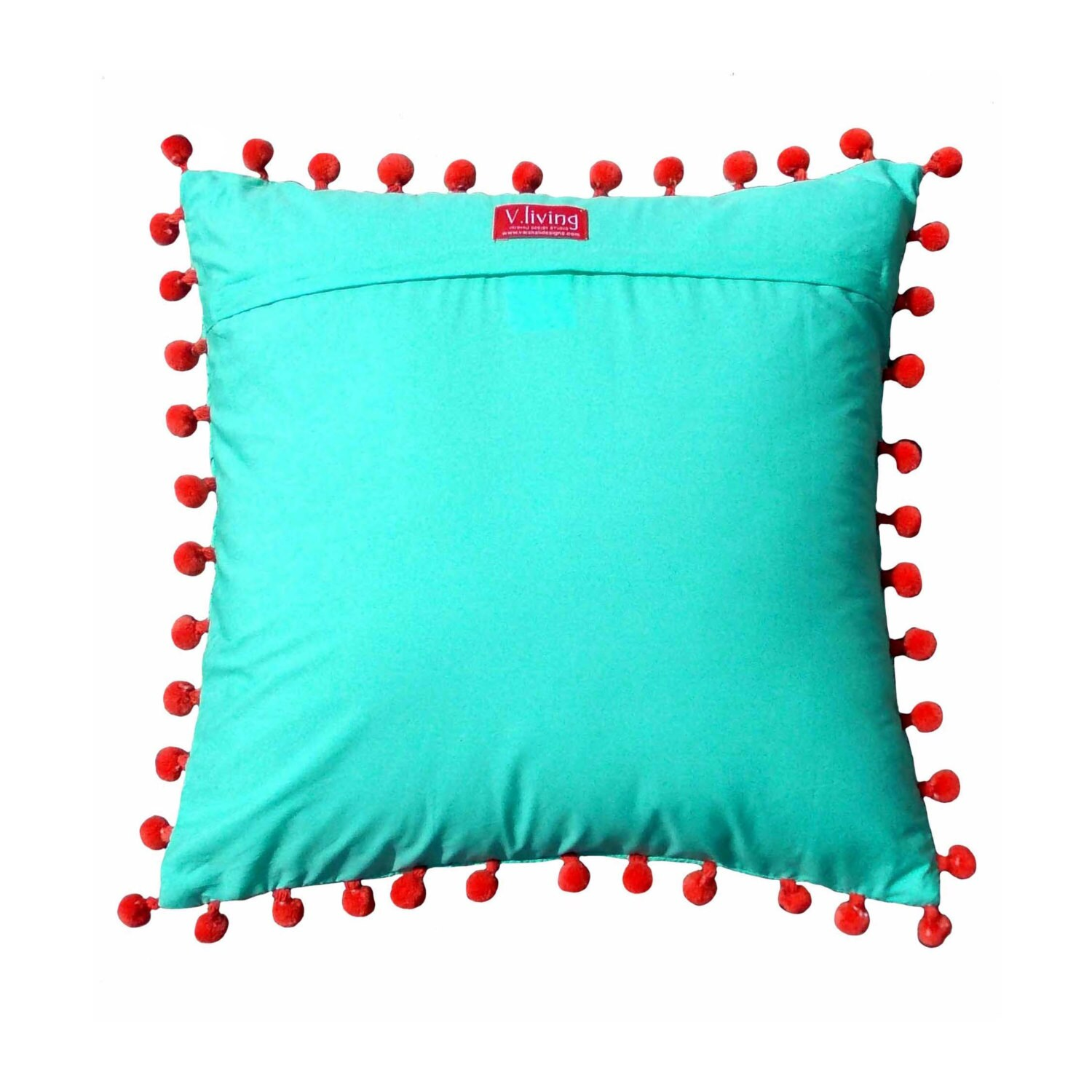 Quilted Decorative Pillow Covers : Mint throw pillow cover quilted cotton pillow cover by VLiving