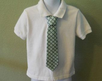 Diamond Pattern Children's Tie
