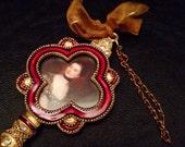 Cloisonné Victorian Style Key Picture Frame