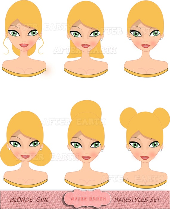 free clipart hairstyles - photo #4