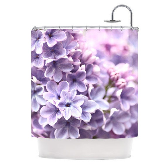 Shower Curtain Sylvia Cook Lilac Great Gift By KessInHouse