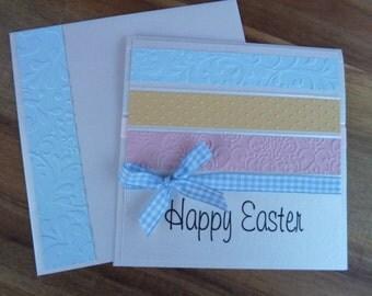 HANDMADE Greeting Card  - Happy Easter Card
