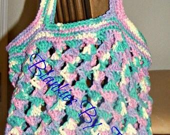 Dancing Ribbons Market Bag