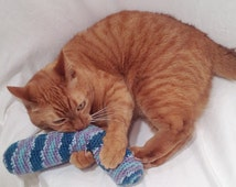 Crochet Catnip Kick Stick Cat Toy