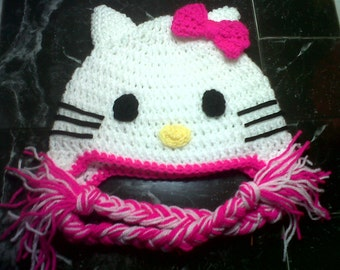 Hello Kitty hat, prices vary, please see full listing for details.