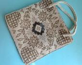 Art Deco Flapper Bag, Roaring Twenties Handbag, Antique Beaded Bag, VogueTeam
