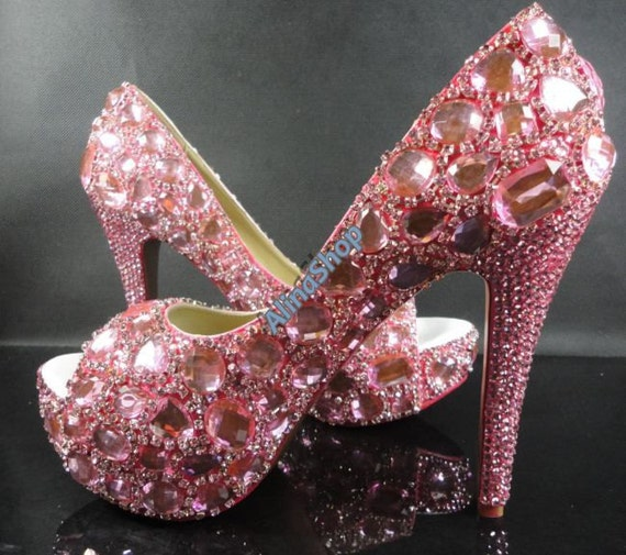 Bling Your Own Wedding Shoes
