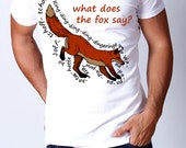 what does the fox say tee Mens