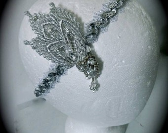 Silver Great Gatsby Inspired Headpiece