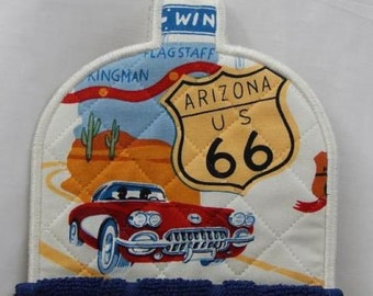 Route 66 Towel Topper