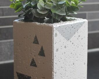 Succulent Planter, Silver